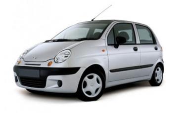Коврики EVA Daewoo Matiz 2000 - н.в